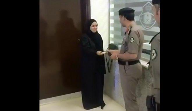Γεγονός η πρώτη γυναίκα οδηγός στη Σαουδική Αραβία