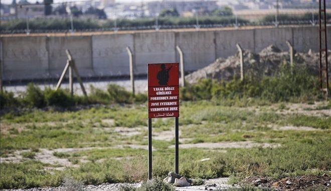 Τα σύνορα Τουρκίας - Συρίας στο Ακτσάκαλε