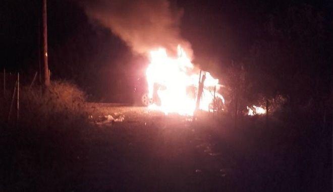 Τραγωδία και στο Πλωμάρι της Λέσβου - Νεκρή ηλικιωμένη από φωτιά σε αγροικία