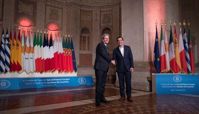 Ελληνοϊταλική συμμαχία για Ευρώπη, επενδύσεις, προσφυγικό