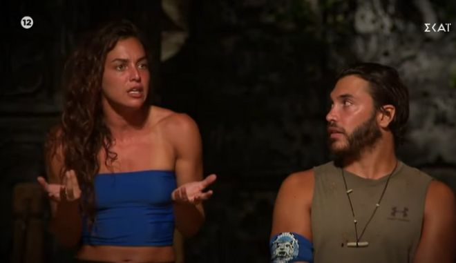 Στιγμιότυπο από το Συμβούλιο του νησιού του Survivor 4