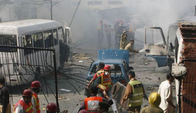Φονική έκρηξη στο Πακιστάν