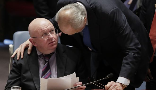 Ο πρεσβευτής της Ρωσίας στα Ηνωμένα Έθνη Βασίλι Νεμπένζια