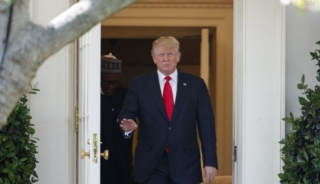 Ο πρόεδρος των ΗΠΑ, Ν.Τραμπ
