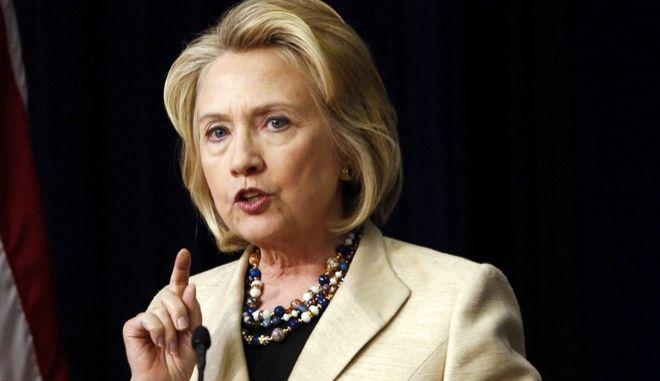 Χίλαρι Κλίντον: Δύο κράτη για Ισραήλ και Παλαιστίνη