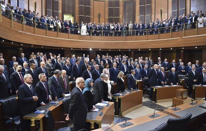 Το κοινοβούλιο του Λιβάνου