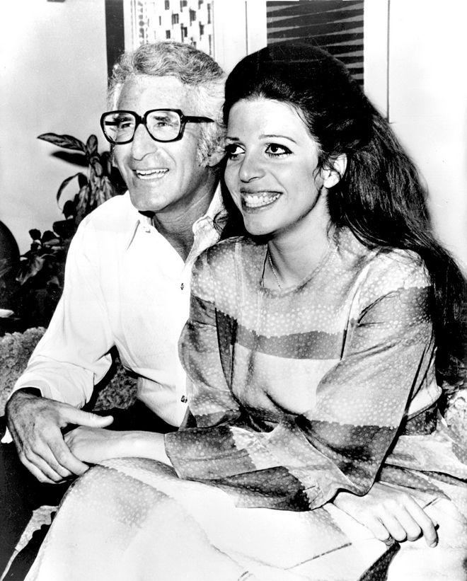 Η Χριστίνα Ωνάση με τον πρώτο της σύζυγο Μ. Τζ. Μπόλκερ το 1971.