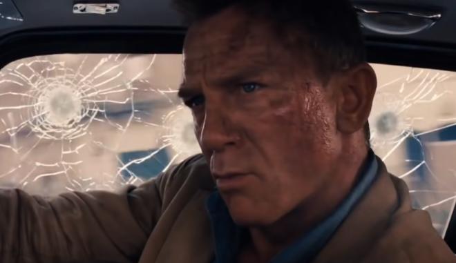Ο Ντάνιελ Γκρέγκ στην ταινία No Time To Die