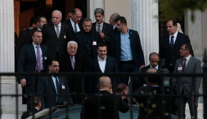 Τσίπρας: Η Ελλάδα μπορεί να παίξει ρόλο γέφυρας διαλόγου στο Παλαιστινιακό