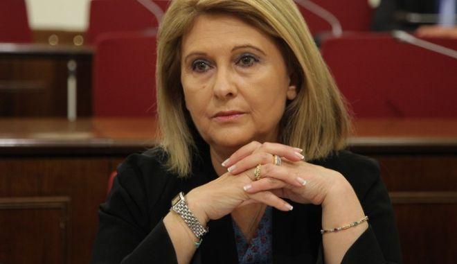 Συνεδρίαση της Ειδικής Μόνιμης Επιτροπής Θεσμών και Διαφάνειας της Βουλής σχετικά με το σχέδιο Συμφωνίας συμβιβασμού μεταξύ της Ελληνικής Δημοκρατίας και της Siemens την Δευτέρα 22 Ιουνίου 2015. Στην Επιτροπή είχε κληθεί να καταθέσει ο Διοικητής της Τράπεζας της Ελλάδας Γιάννης Στουρνάρας. (EUROKINISSI/ΓΙΑΝΝΗΣ ΠΑΝΑΓΟΠΟΥΛΟΣ)