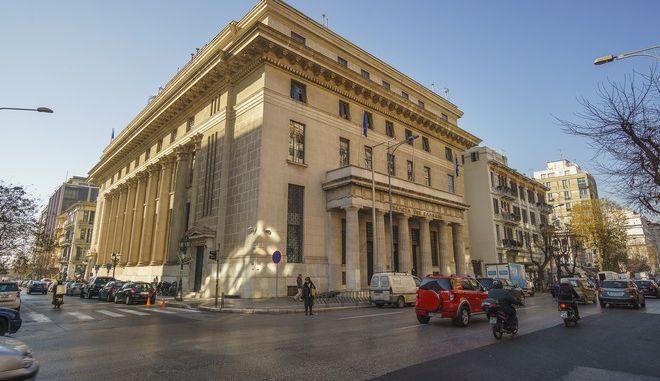 Το κατάστημα της Εθνικής Τράπεζας στη Θεσσαλονίκη