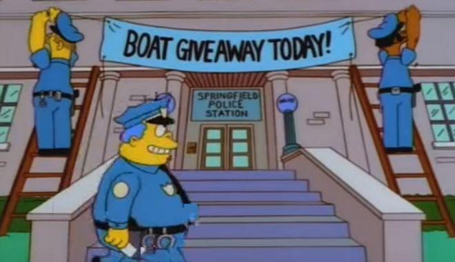Η αστυνομία έπιασε 21 καταζητούμενους με τρικ από τους Simpsons