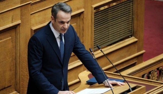 """Μητσοτάκης: Ο ΣΥΡΙΖΑ επέστρεψε στην αντιπολίτευση με τα """"μαγκάλια"""""""