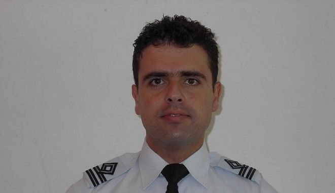 Ο νεκρός πιλότος Νικόλαος Βασιλείου