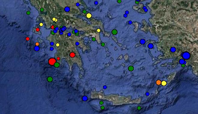 Σεισμός 4,5 ρίχτερ στη Μεσσηνία