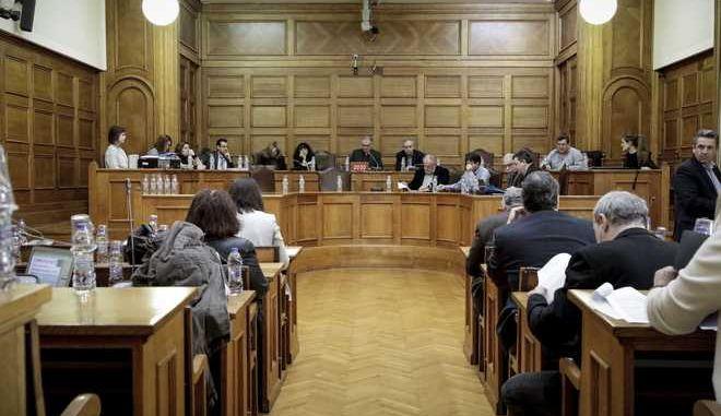 """Συνέχιση της επεξεργασίας και εξέτασης του σχεδίου νόμου του Υπουργείου Παιδείας, Έρευνας και Θρησκευμάτων """"Ίδρυση Πανεπιστημίου Δυτικής Αττικής και άλλες διατάξεις"""" στην Επιτροπή Μορφωτικών Υποθέσεων της Βουλής την Παρασκευή 16 Φεβρουαρίου 2018. (EUROKINISSI/ΓΙΑΝΝΗΣ ΠΑΝΑΓΟΠΟΥΛΟΣ)"""