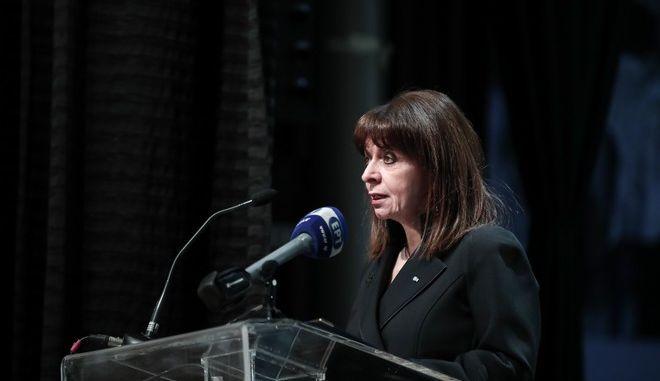 Χαιρετισμός της Προέδρου της Δημοκρατίας ΚατερίναςΣακελλαροπούλου στην πανηγυρική διαδικτυακήεκδήλωση για την απελευθέρωση της πόλης των Ιωαννίνων