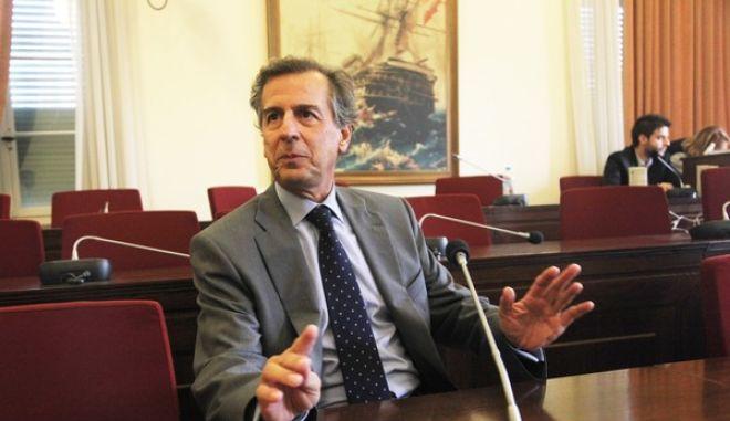ΒΟΥΛΗ-Προανακριτική Επιτροπή για την υπόθεση Βατοπεδίου καταθέτει ο πρώην υπουργός πολιτισμού Μ. Λιάπης.( EUROKINISSI-ΓΙΑΝΝΗΣ ΠΑΝΑΓΟΠΟΥΛΟΣ)