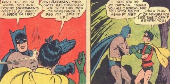 Γιατί ο Μπάτμαν χαστούκισε τον Ρόμπιν - Η ιστορία πίσω από το viral καρέ