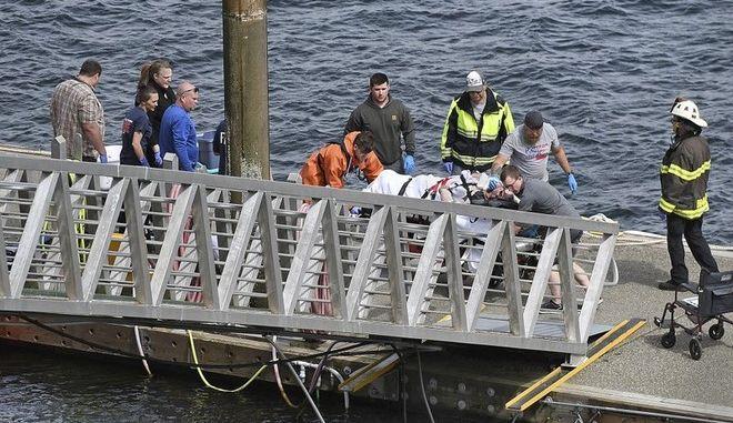 Σύγκρουση δύο υδροπλάνων με νεκρούς, τραυματίες και αγνοούμενους