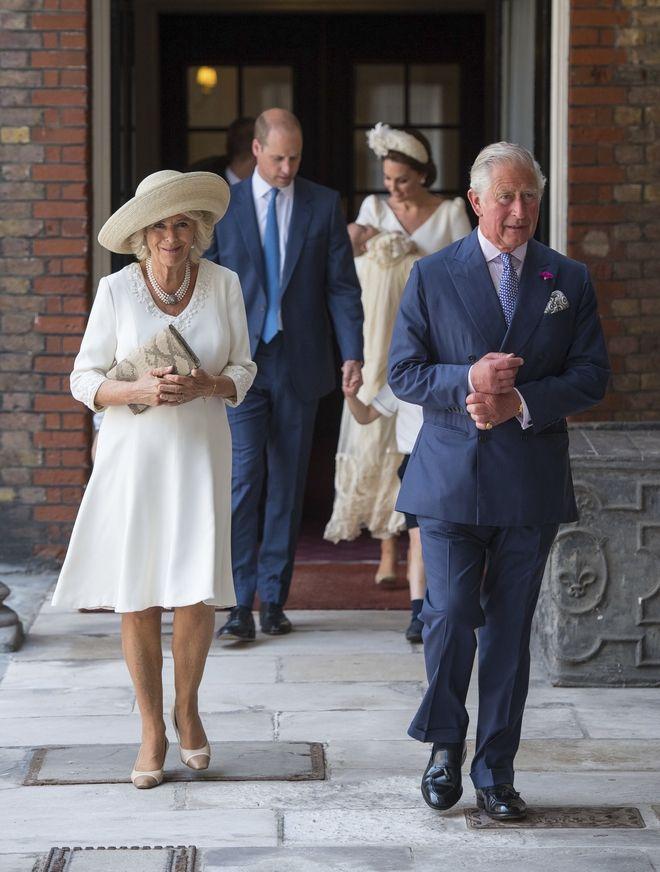 Ο πρίγκιπας Κάρολος και η Καμίλα Πάρκερ.