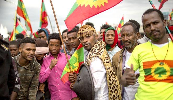 Ορόμο στους δρόμους της Αντίς Αμπέμπα