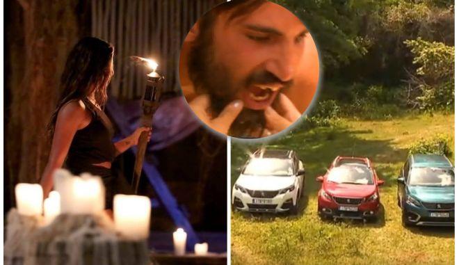 Αποχώρησε η Εύη, έσπασε τα δόντια του ο Ηλίας και τελικά τα αυτοκίνητα, τα οδήγησαν οι Διάσημοι