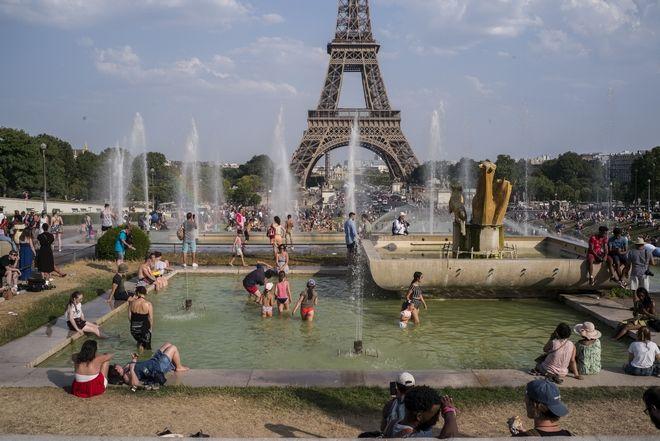 Γαλλία: Κύμα καύσωνα στην Ευρώπη, θερμοκρασίες ρεκόρ το καλοκαίρι του 2019.