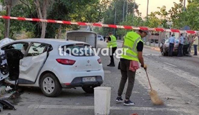 Τραγωδία στη Θεσσαλονίκη: Δύο νεκροί σε τροχαίο