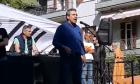 O βουλευτής των ΑΝΕΛ, Αριστείδης Φωκάς στο συλλαλητήριο του ΠΑΟΚ