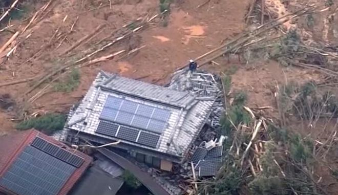 Ιαπωνία: Αυξάνεται ο αριθμός των νεκρών απο τις καταρρακτώδεις βροχές