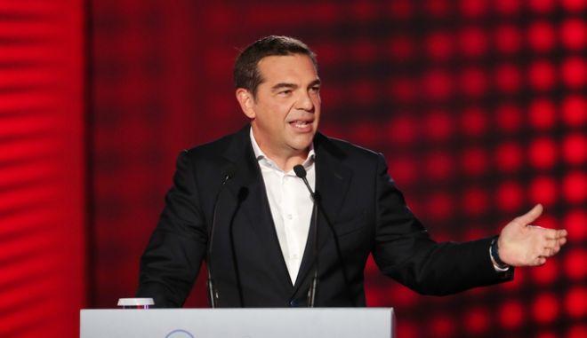 Αλέξης Τσίπρας στην ΔΕΘ: Κατώτατος μισθός στα 800 ευρώ από την πρώτη μέρα