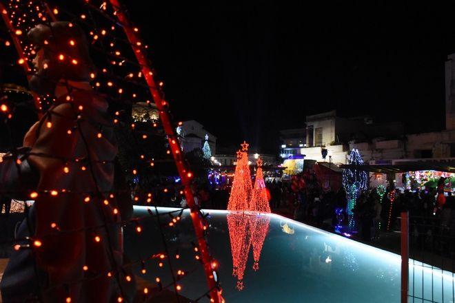 Φωταγώγηση στο Άργος για τις γιορτές - Έναρξη των φετινών Χριστουγεννιάτικων εκδηλώσεων