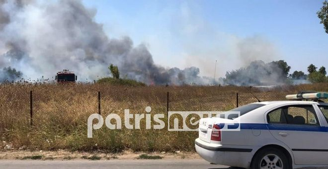 Φωτιά στη Βάρδα Ηλείας: Εκκένωση κέντρου υγείας