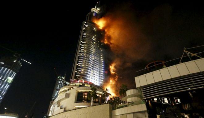 Πυρκαγιά σε ξενοδοχείο στο Ντουμπάι