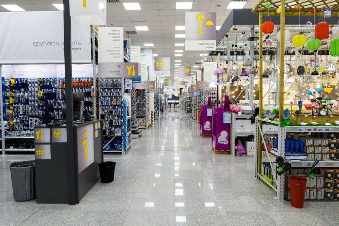 Praktiker Hellas: Αύξηση του κύκλου εργασιών κατά 6,2% το 2016
