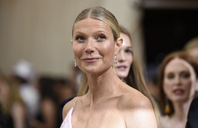 Gwyneth Paltrow attends The Metropolitan Museum of Art's Costume Institute benefit gala celebrating the opening of the Rei Kawakubo/Comme des Garçons: Art of the In-Between exhibition on Monday, May 1, 2017, in New York. (Photo by Evan Agostini/Invision/AP)
