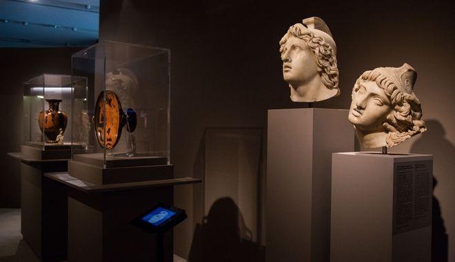 Εκθέματα στο Μουσείο Ακρόπολης