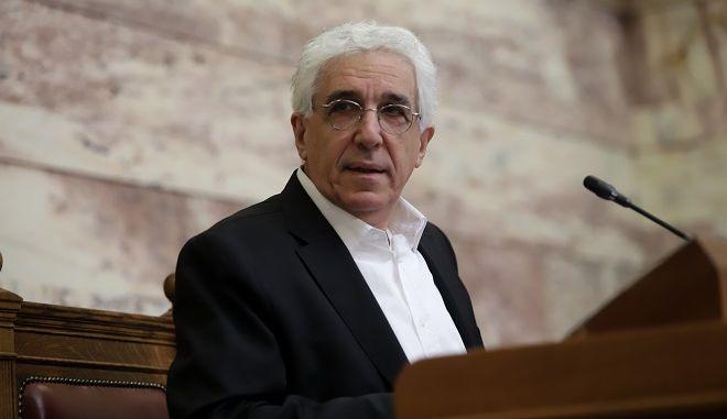 Ο πρώην υπουργός Νίκος Παρασκευόπουλος