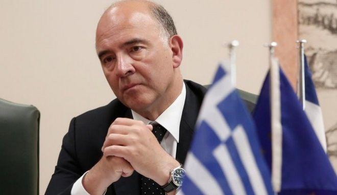 Στην Αθήνα ο Μοσκοβισί για χρέος και επόμενη μέρα