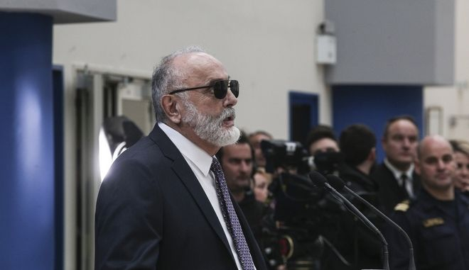 Ο Υπουργός Ναυτιλίας, Παναγιώτης Κουρουμπλής