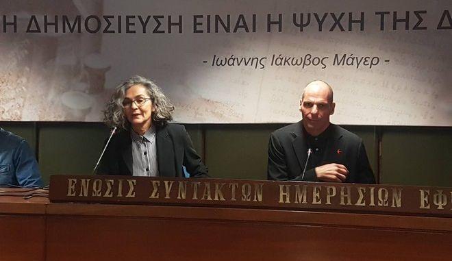 ΜέΡΑ25: Η Σακοράφα στο ευρωψηφοδέλτιο του Γιάνη Βαρουφάκη