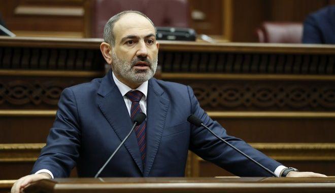 Ο Αρμένιος πρωθυπουργός Νικόλ Πασινιάν