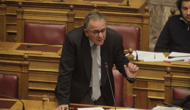 ΑΘΗΝΑ-ΒΟΥΛΗ-ΕΠΙΚΑΙΡΕΣ  ΕΡΩΤΗΣΕΙΣ// ο υπουργός Μεταναστευτικής Πολιτικής Γιάννης Μουζάλας. (Eurokinissi- ΚΟΝΤΑΡΙΝΗΣ ΓΙΩΡΓΟΣ)