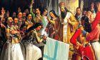 Πίνακας ζωγραφικής του Θεοδώρου Βρυζάκη στο Ναύπλιο, για την έναρξη της επανάστασης του '21