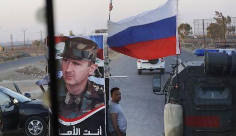 Φωτό αρχείου: Ρωσικά στρατεύματα στη Συρία