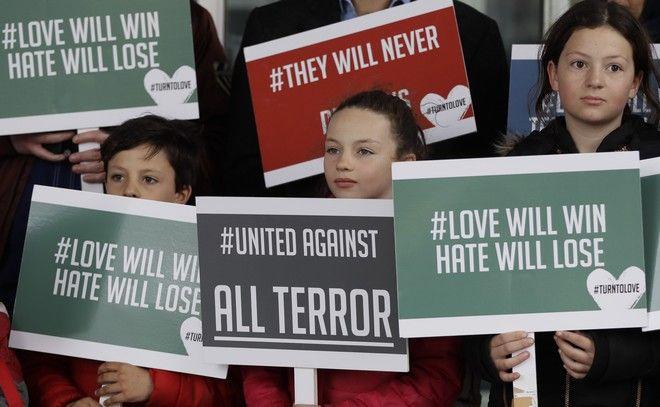 Διαδήλωση κατά του μίσους στο Λονδίνο με αφορμή το μακελειό στη Νέα Ζηλανδία
