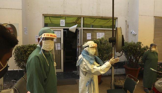 Ιατρικό προσωπικό στη Βραζιλία