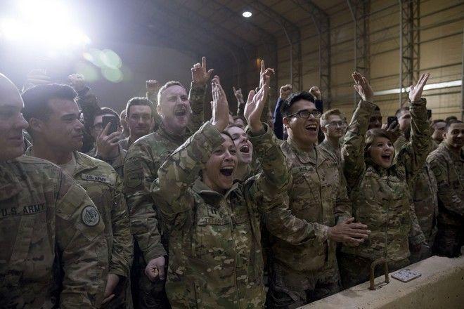 Το ζεύγος Τραμπ απροειδοποίητα στο Ιράκ