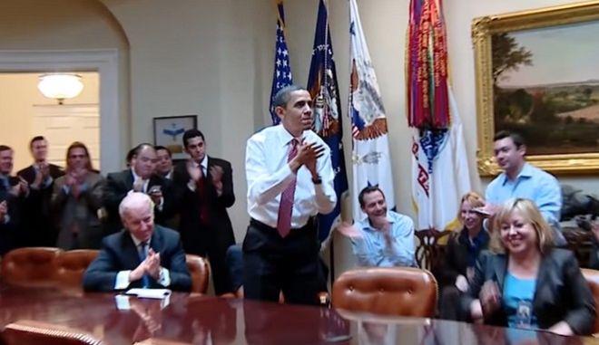 Διάσημοι και απλοί πολίτες περιγράφουν τη δική τους ξεχωριστή στιγμή από την προεδρία Ομπάμα